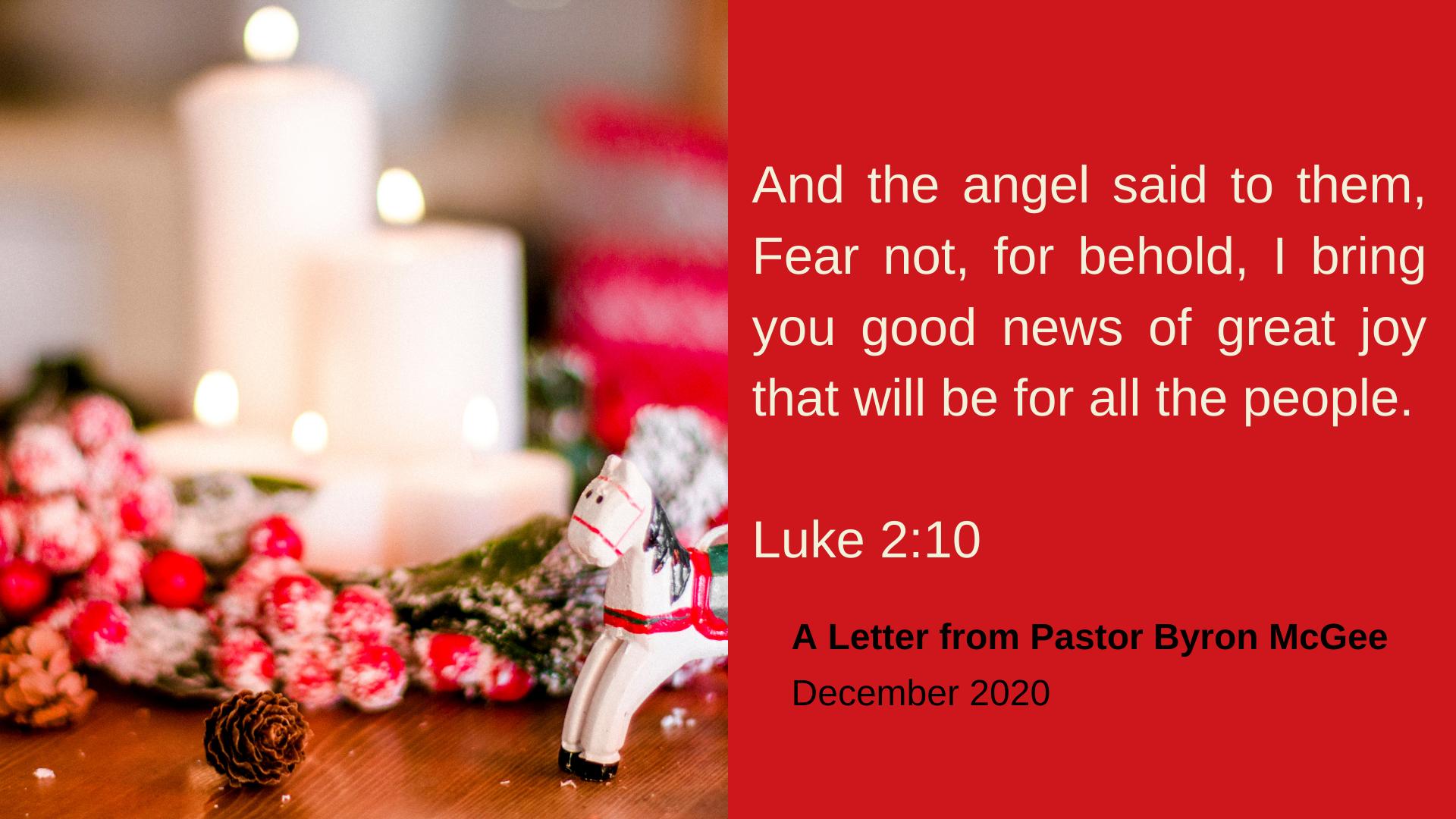 Merry Christmas Cornerstone Baptist Church